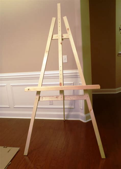 build a standing lazy liz on less build a cheap quick and easy artist easel