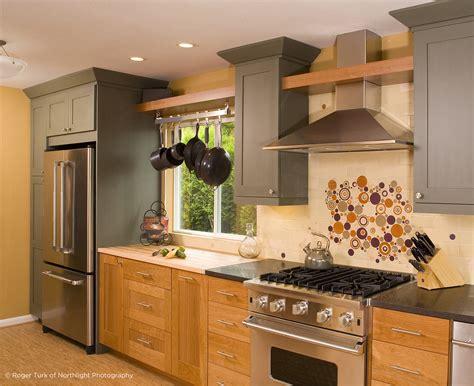 Unique Kitchen Backsplash By Mercury Mosaics With Bubbles