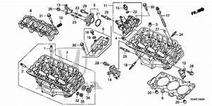 Rear Cylinder Head  V6  For 2010 Honda Accord Coupe