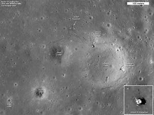 Photos: New Views of Apollo Moon Landing Sites | Moon ...