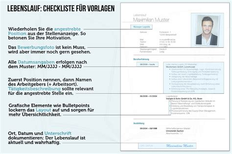 Für Lebenslauf Schreiben by Checkliste F 227 188 R Den Perfekten Lebenslauf Rulmeca Germany