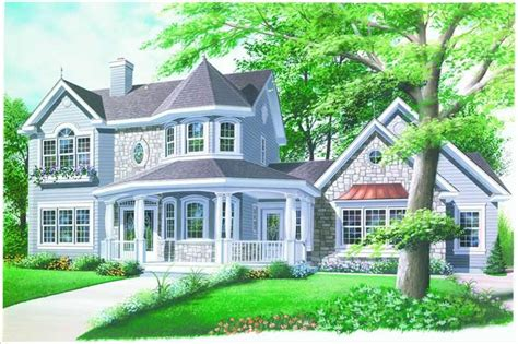 Country, Victorian, Farmhouse House Plans