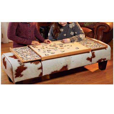 portable jigsaw puzzle tray plan rockler woodworking