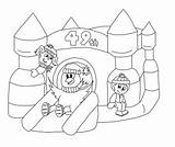 Castle Bouncy Colouring Carnival Coloring Bounce Drawing Winter Richmond Contest Pages Colour Hill Template Getdrawings sketch template