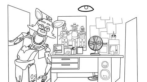 Kleurplaat Minecraft End by Fnaf Coloring Pages Coloring Pages For Fnaf World