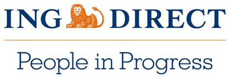 Banco Ing Direct File Logo Ing Direct Png Wikimedia Commons