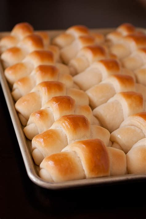 perfect homemade dinner rolls recipelioncom