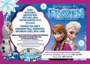 Frozen Theme Tea Party - Melbourne