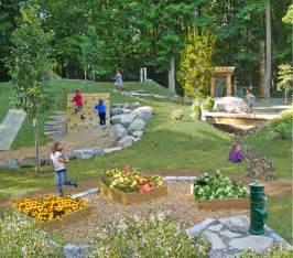 Natural Backyard Playscapes