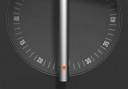 Behance Clock Turn Hands
