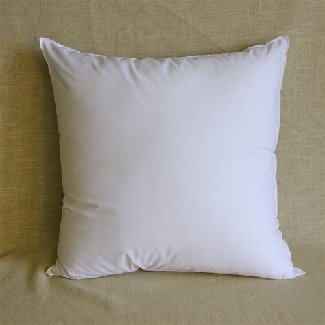 18x18 pillow insert polyester square pillow forms