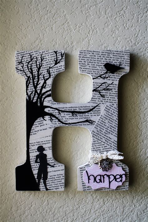 cool        raw craft letters  arent   painting