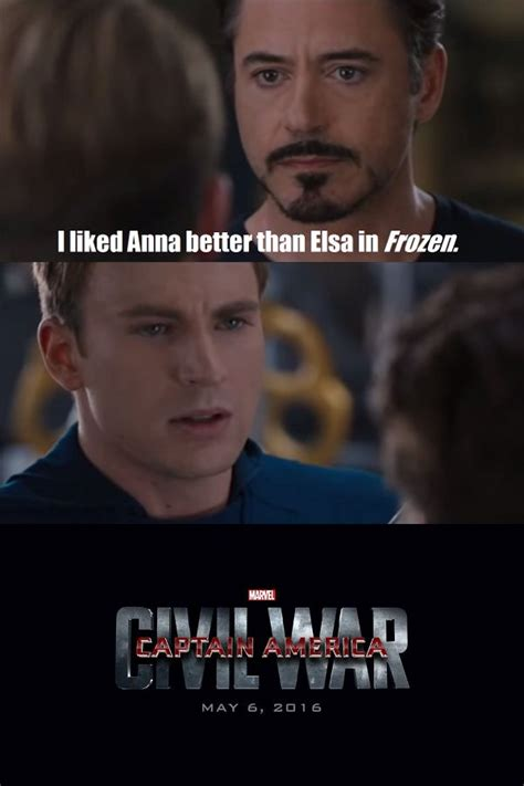 American Civil War Memes - captain america civil war meme google search captain america pinterest captain america