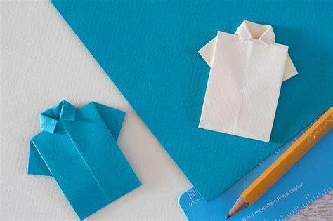 lenschirm basteln papier falten t shirt papier falten wie du ein origami papier hemd falten kannst