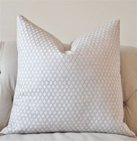 grey and white pillows light gray and white pillow silver grey woven geometric