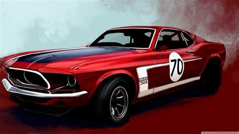 Ford Mustang Boss 302 Classic Car 4k Hd Desktop Wallpaper