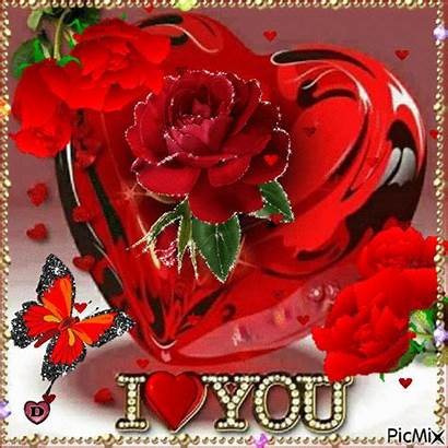 Picmix Rose Gifs Heart Animated Valentines Encontrados