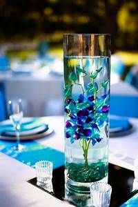 blue orchid | Wedding Reception Table Decorations | Pinterest