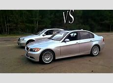 2012 BMW 3 vs Mercedes SClass Drag Race YouTube