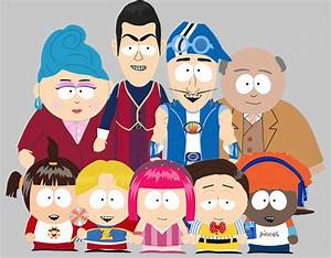 Lazytown characters rendered South Park style. #lazytown # ...
