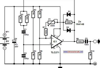 Diesel Cb Microphone Wiring Diagram by Mini Audio Signal Generator Circuit Diagram