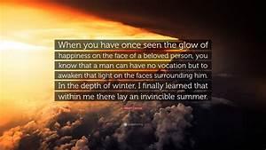 Albert Camus Qu... Glow On Face Quotes