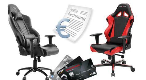 gaming stuhl kaufen gaming stuhl auf rechnung kaufen gt gt so einfach geht es