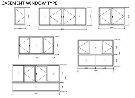 france style aluminum extrusion house window plans  casement windows buy cheap price