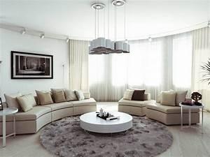 canape demi lune et canape rond 55 designs spectaculaires With tapis de sol avec ensemble canape gris