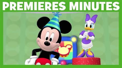 la maison de mickey premi 232 res minutes joyeux maxiversaire mickey
