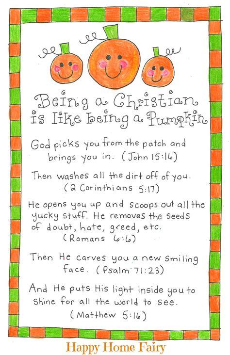 pumpkin rhymes preschool being a christian is like being a pumpkin free printable 206