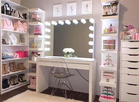 13 Beautiful Makeup Room Ideas, Organizer And Decorating