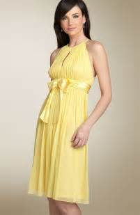 yellow dresses for wedding simple yellow bridesmaid dress sang maestro