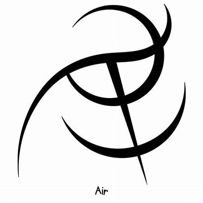 Sigil Earth Air Symbols Strong Connection Athenaeum