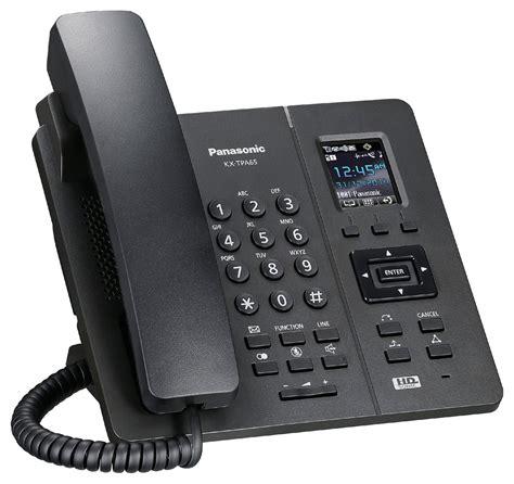 telephone bureau bureau téléphone sans fil dect panasonic tpa65 noir à