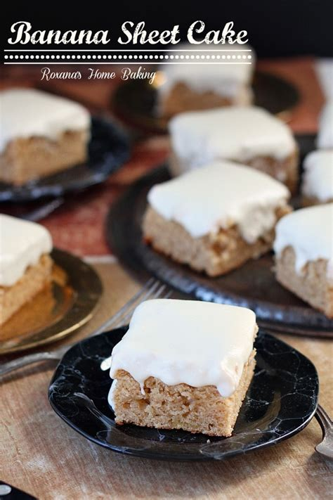 banana sheet cake with cheese frosting recipe