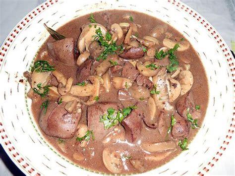 cuisiner rognons de porc recette rognons sauce madere