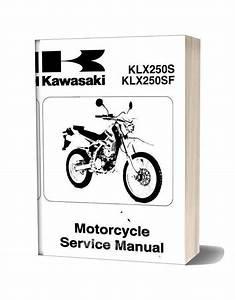 Kawasaki Klx250 Injection Service Manual 2008 2009