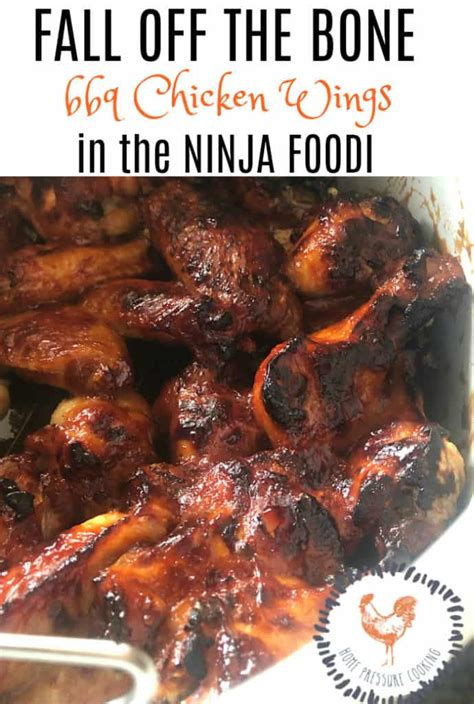 ninja chicken wings foodi bbq cooking pressure recipes homepressurecooking air fryer oven wing grilled cooker baby stopping thanks today