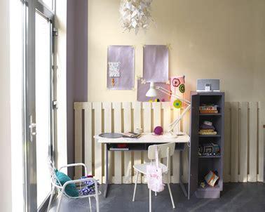 bureau dans salon décoration d 39 un coin bureau idées couleurs peinture