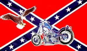 Rebel Flag with Eagle