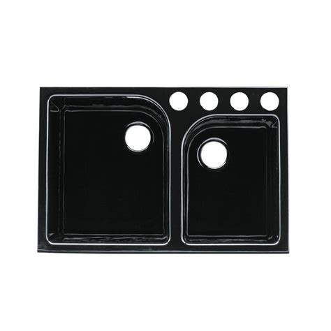 kohler executive chef undermount cast iron 33 in 4 hole