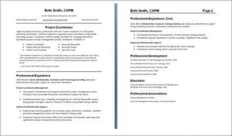 My Resume Is Two Pages by Resume Exles 2 Pages Exles Pages Resume