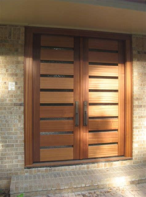 Door Designs by Horizontal Modern Front Door The Cavender Diary
