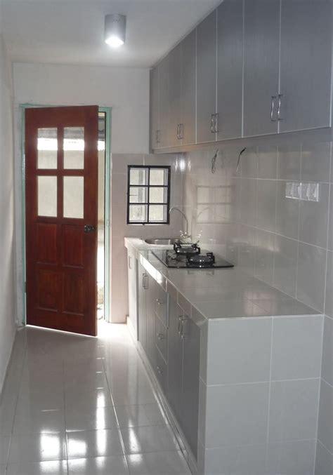 kabinet dapur rumah flat
