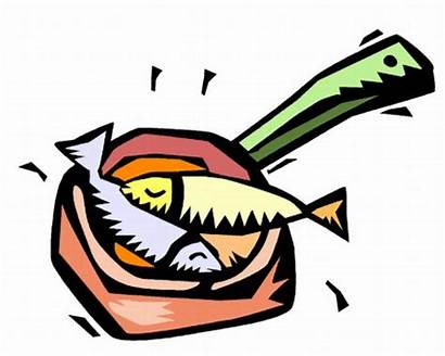 Fish Fry Clipart Clip Fried Dinner Cooked