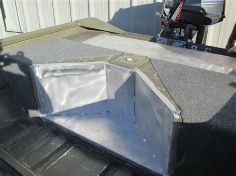 Aluminum Jon Boat Gas Tank by Custom Fabrication Fishon Fabrications