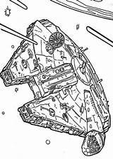 Falcon Coloring Wars Star Millenium Flying Space Millennium Through Pages Kolorowanki Wydruku Wojny Gwiezdne Template Ausmalbilder Malowanki Ninjago Sketch Lego sketch template
