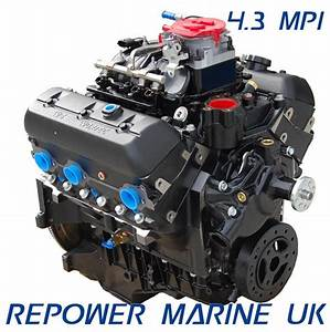 New 4 3l V6 Vortec Mpi Base Engine - V6 Petrol Engines - Petrol Marine Engines