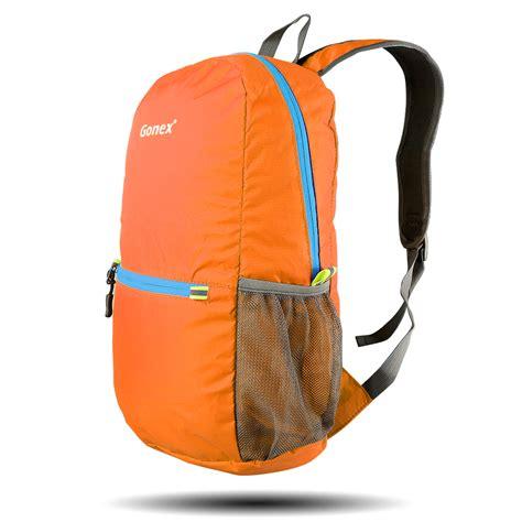 ultra light backpack gonex ultralight packable foldable backpack daypack